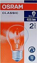 Osram CLASSIC A Incandescent lamps   Halogen 30W, Screw Base E27, Warm White/2700k - 405 lm