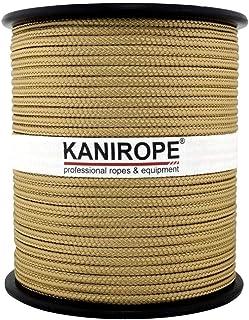 Kanirope PP Seil Polypropylenseil MULTIBRAID 5mm 100m Farbe Gold 1345 16x geflochten