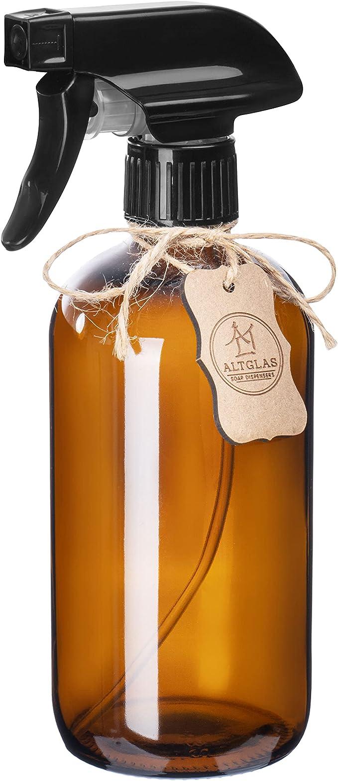 31 opinioni per Altglas Bottiglia Spray di Vetro Marrone Spruzzino Nebulizzatore Riutilizzabile