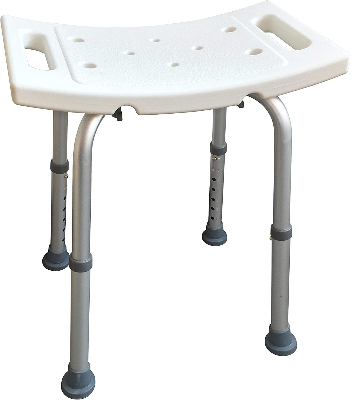 Sodynee Adjustable Max 55% OFF Bath Bench Luxury or Seat Shower Stool Chair