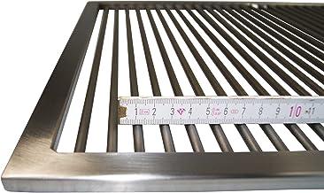 Grillclub Edelstahl Grillrost 60,5 x 44,5 cm !! nur 9 mm Lichter Stababstand !! für Weber Spirit E 300 310 320 330