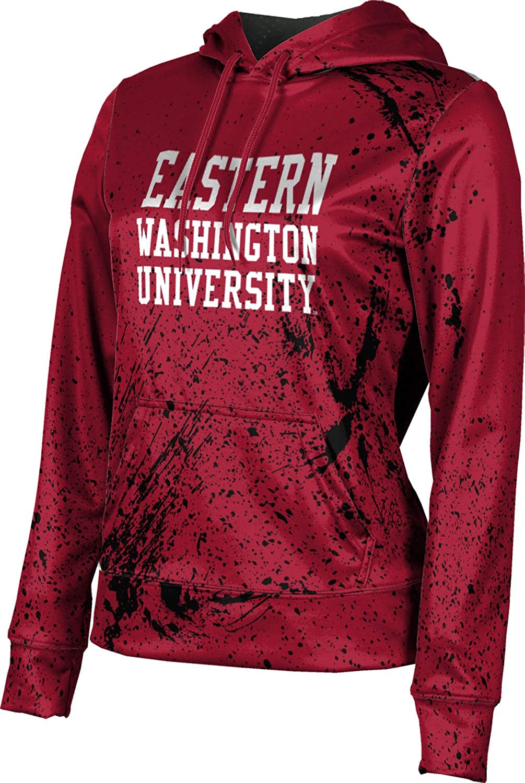 ProSphere Eastern Washington University Girls' Pullover Hoodie, School Spirit Sweatshirt (Splatter)
