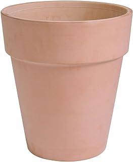 イタリア製 植木鉢 アンティークトールポット 30cm テラコッタ 陶器鉢 素焼き鉢 園芸 ガーデニング プランター