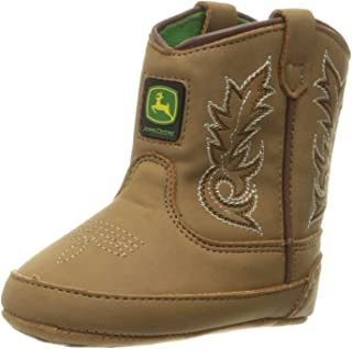 John Deere Bab All Over Tan PO Pull-On Boot