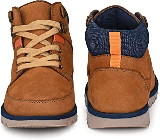 DC - Boys Tan Leather Boots