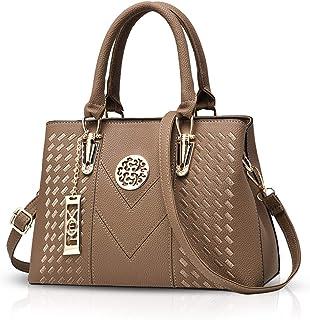 NICOLE & DORIS Elegant Taschen Damen Handtaschen Umhängetasche Crossbody Bag Frauen Schultertaschen Henkeltaschen PU Leder Tasche