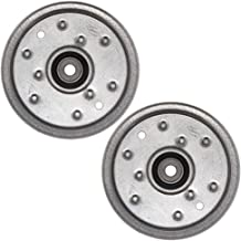 Stens 280-646 Flat Idler Pulley, Pack of 2