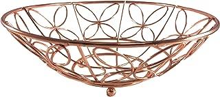 Copper plated fruit basket/bowl