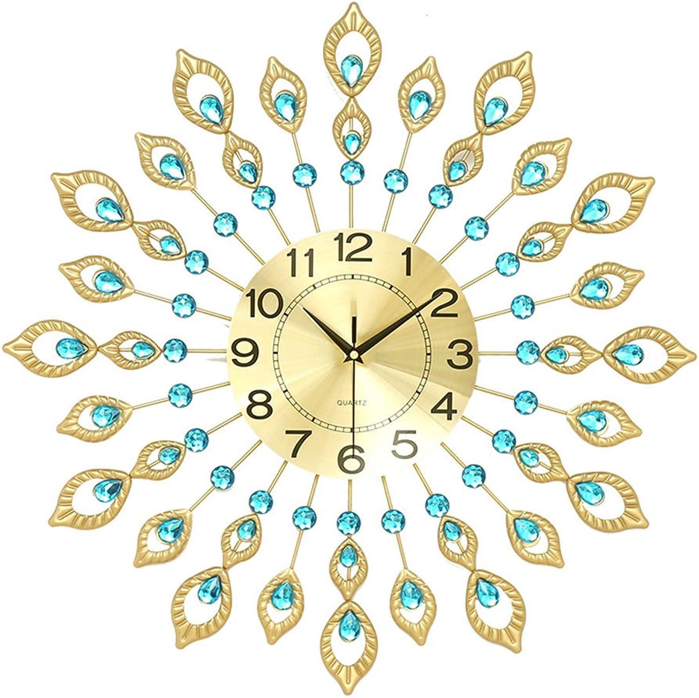 punto de venta Reloj de parojo Silencio Sin Sin Sin marca Personalidad Decorar Peacock Reloj Sala de estar Dormitorio Reloj de estudio Batería Moderna Minimalista Creativo Reloj grande Cuarzo ( Tamao   .Diameter 60cm )  oferta especial