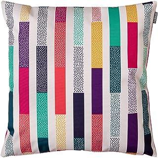 Bean Bag Bazaar Cojín de verano para exteriores, 43 cm, relleno de fibra decorativa, moderno, resistente al agua, para silla de jardín o patio o banco, sofá