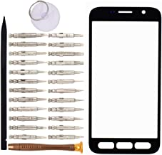 Front Screen Glass Lens for Samsung Galaxy S7 Active G891(Black)
