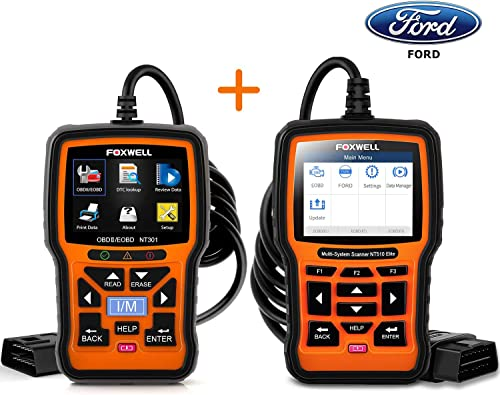 2021 Foxwell NT301 Obd2 Scanner popular and outlet sale Foxwell NT510 Elite Scan Tool for Ford online