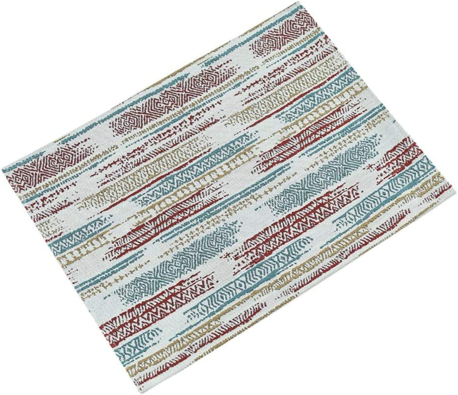 Max 84% OFF YUXO Placemats Max 76% OFF for Dinning Table Mats 4pcs Place Heat-Res Fabric
