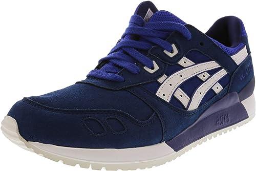 ASICSHL7E5.0000 Gel EU 42 blanco), azul (Asics azul Hombre