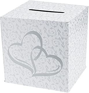 two hearts card box
