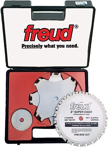 "high quality Freud 8"" x online 24T new arrival Super Dado Sets (SD508) sale"