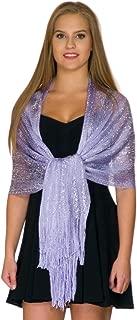 Shawls and Wraps for Evening Dresses, Sparkling Glitter Shawls for Women, Metallic Wedding Shawl Gift by ShineGlitz