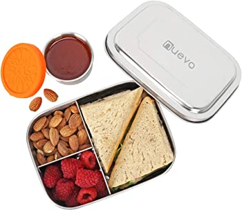 Nuevo Leakproof Dips Condiment Container Lunch Box