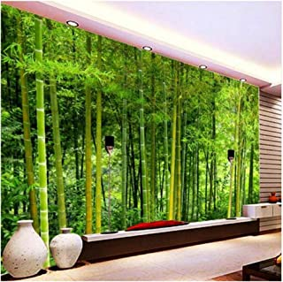 Yxjj1 Latest Bamboo Wall Paper Living Room TV Sofa Backdrop Wall Mural 3D Nature Landscape Home Decor-250cm(W) x 160cm(H) (8'2