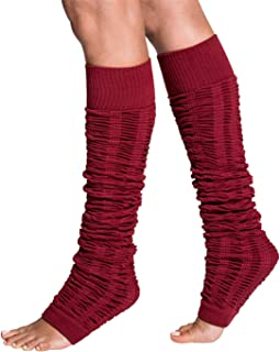 Tucketts Leg Warmers Socks for Dance, Ballet, Yoga, Pilates, Barre - Leg Warmers Style