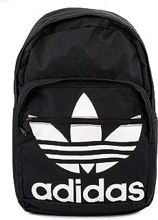 [アディダス]adidas バックパック CL5498 Originals Trefoil Pocket Backpack 男女兼用 Black/White [並行輸入品]