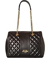 LOVE Moschino - Quilted Shoulder Bag Chain Strap