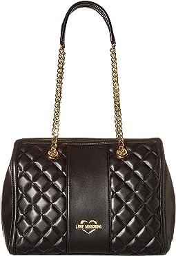 Quilted Shoulder Bag Chain Strap