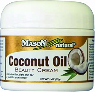 MASON natural Coconut Oil Beauty Cream, 2 Ounce (Pack of 2)