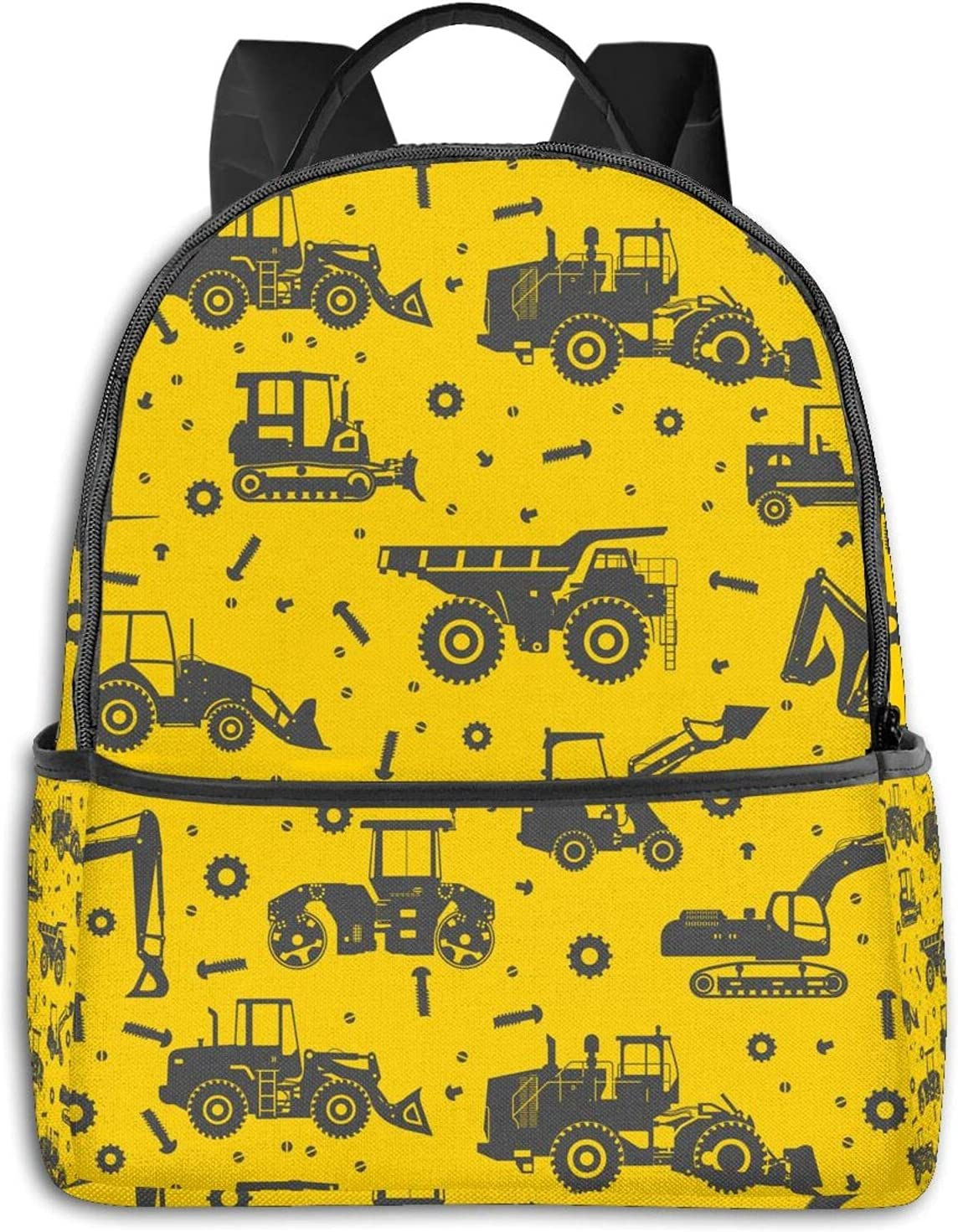 Construction Crew Vehicles Truck Backpack Men for Travel L store Women Max 75% OFF