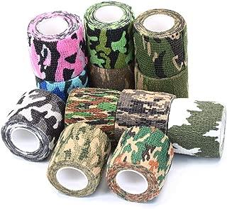 Auto-agrippant et /élastique les premiers soins Bandage coh/ésif UxradG 5 x 450/cm Pour les tatouages 6 couleurs disponibles En tissu non tiss/é les soins v/ét/érinaires
