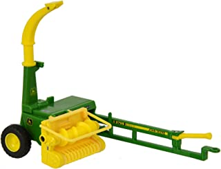 Britains 1:32 John Deere Trailed Forage Harvester - Collectable Farm Toy Attachment - Compatible with All 1:32 Vehicles - Suitable from 3 Years