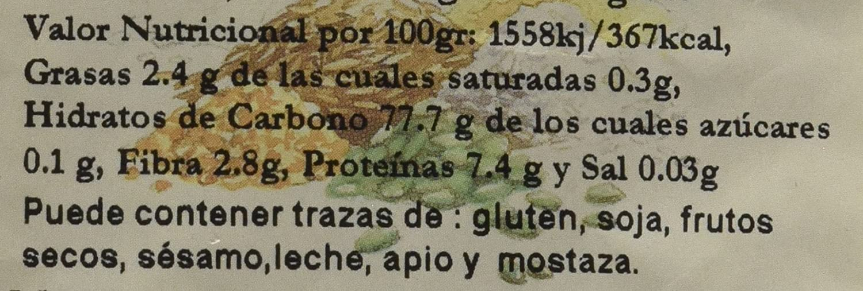 Bionsan Arroz Integral Redondo Ecológico - 3 Bolsas de 1000 ...