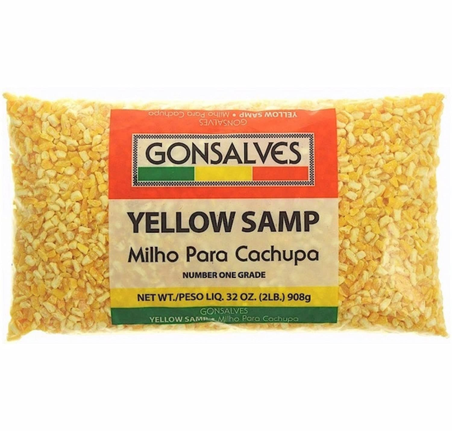 Gonsalves YELLOW SAMP Milho Para Yellow CO Dried HOMINY Cachupa 35% Time sale OFF