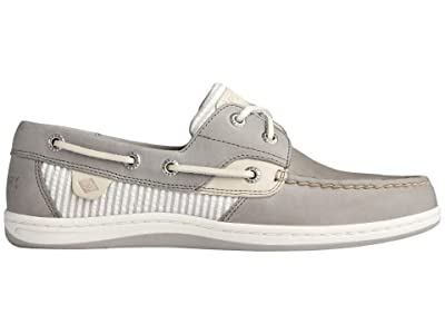 Sperry Koifish Seersucker Stripe (Cement) Women