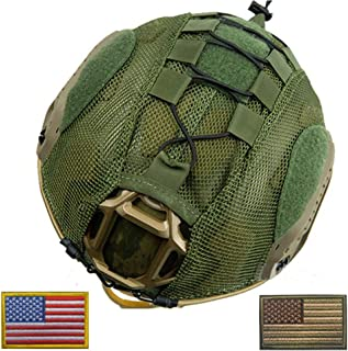 OSdream Only Suitable Fast Type Mesh Tactical Helmet Camouflage Cover