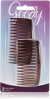 Goody 1942530 Classics Mock Tort Side Comb, Multi-Colour ' 2 Units