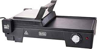 Grill Elétrico 3 Em 1, Com Abertura 180°, Black+decker, G2200, Preto