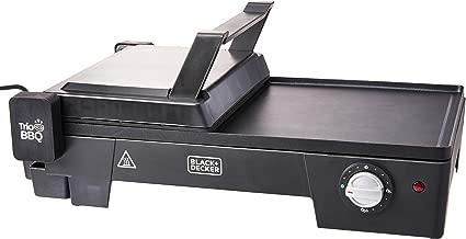 Black+Decker G2200 Grill Elétrico 3 em 1, com Abertura 180