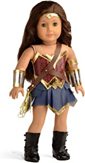 sweet dolly Doll Clothes Wonder Girl Princess Diana Costume for 18 Inch American Girl Dolls