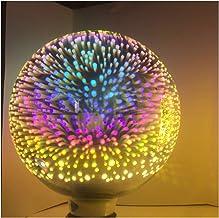 Zsheng 1 STKS 3D Vuurwerk G95 LED Filament Lampen E27 3D-ster 7W Edison Bulb Light Holiday Christmas Decoration Bar Glass ...