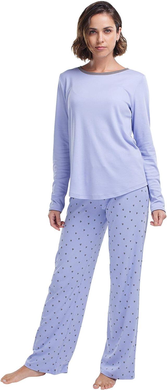 jijamas Long Beach Mall Incredibly Soft Pima Cotton Women's Set Max 74% OFF - The Pajamas Tr