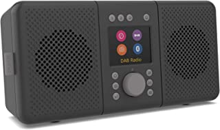Pure 248484 Elan Connect+ Portable DAB+/FM Bluetooth with Internet Radio - Charcoal