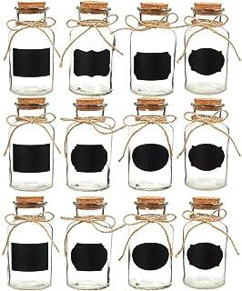 Guardar peque/ño cantidades Especias o como mu/ñeca biberones/ /Marca Ganzoo Juego de 6/Mini de biberones a 20/ml de cristal con corcho para decoraci/ón bspw