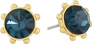 Kate Spade New York Womens Flying Colors Bezel Studs Earrings