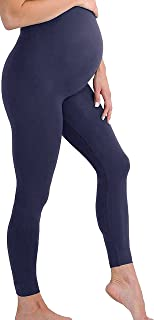Maternity Leggings Over The Belly Stretch Seamless...