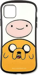 グルマンディーズ アドベンチャー・タイム iPhone11 Pro Max(6.5インチ)対応ハイブリッドガラスケース Aタイプ ADT-20A