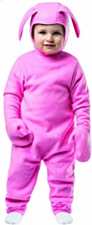MyPartyShirt Ralphie Bunny Suit Toddler Costume A Christmas Story Easter Boys Girls Pink Baby