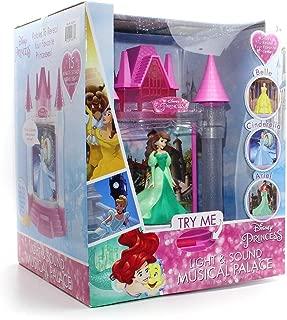 Playthings Disney Princess Light & Sound Musical Palace - Belle, Cinderella & Ariel
