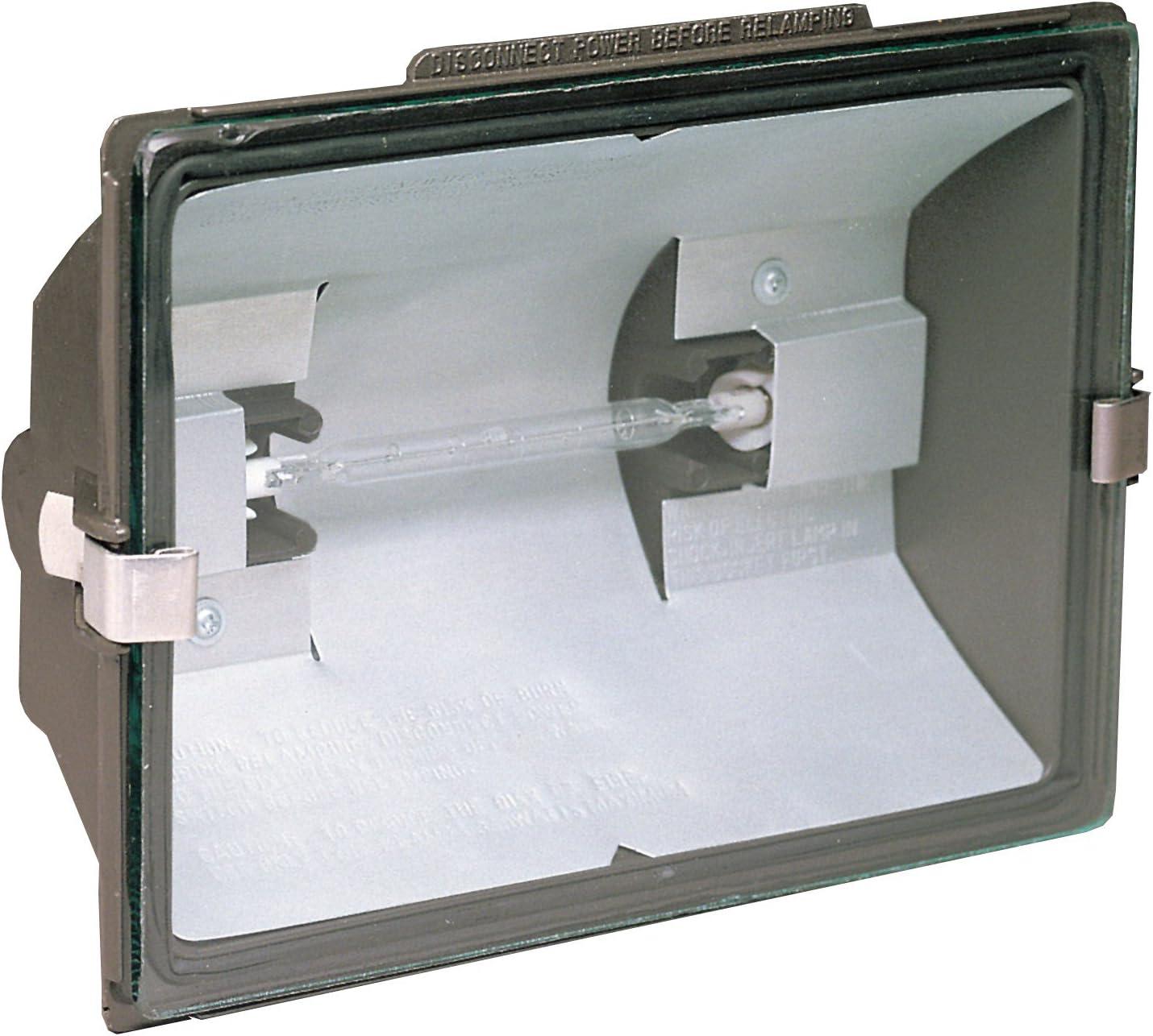 Heathco Excellent HZ-5505-BZ 500 Watt Floodlight 55% OFF Halogen Quartz Bronze