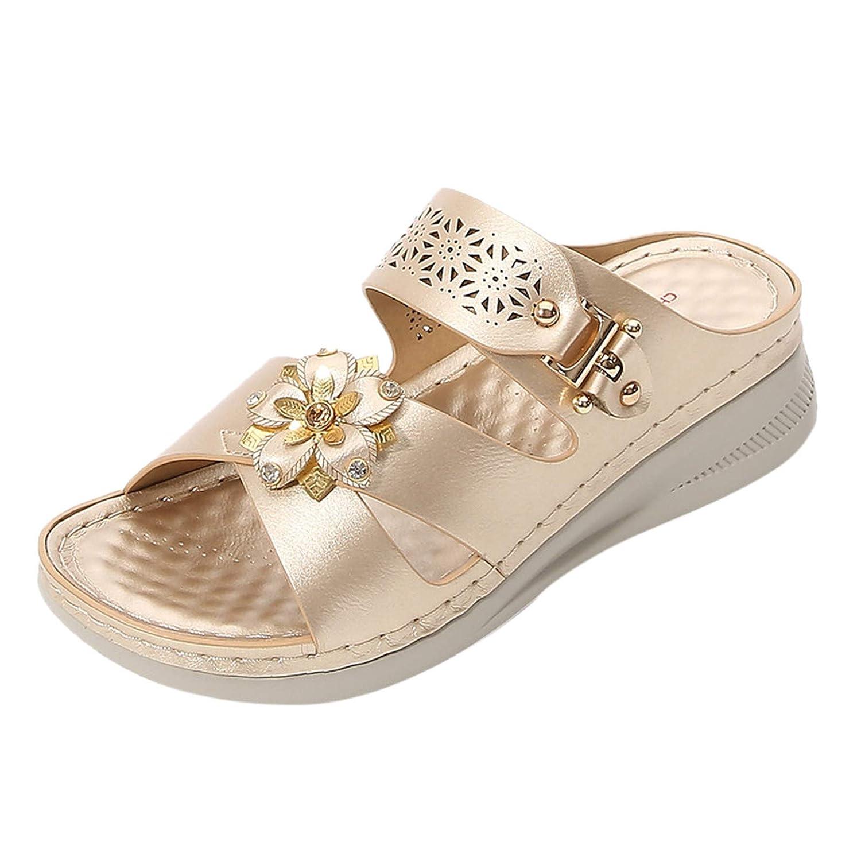 Women's Beach Wedge Sandals – Flo Max 71% OFF Flip shopping Platform Ladies